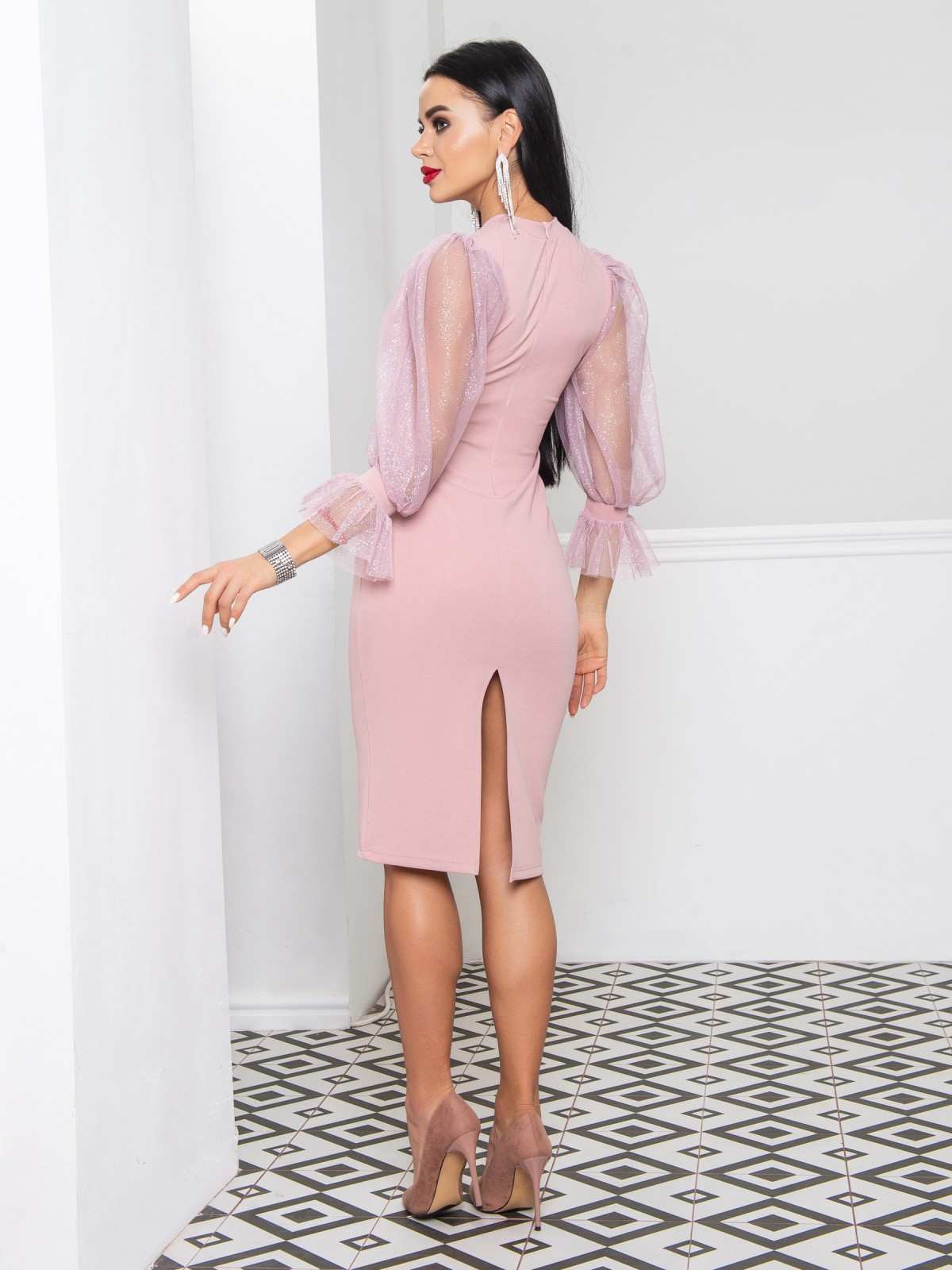 Платье Onyx пудровый