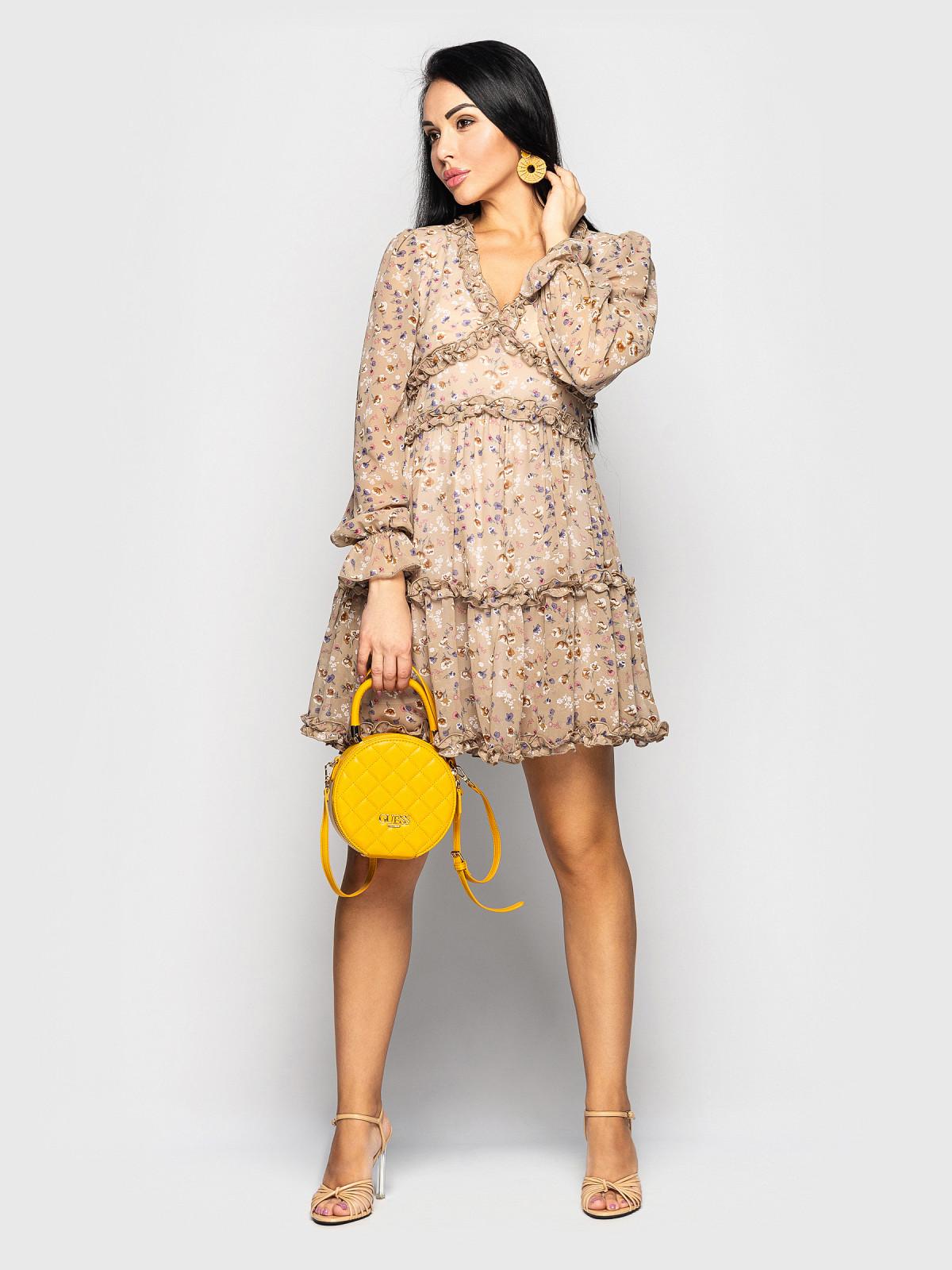 Платье Olivia оливковый