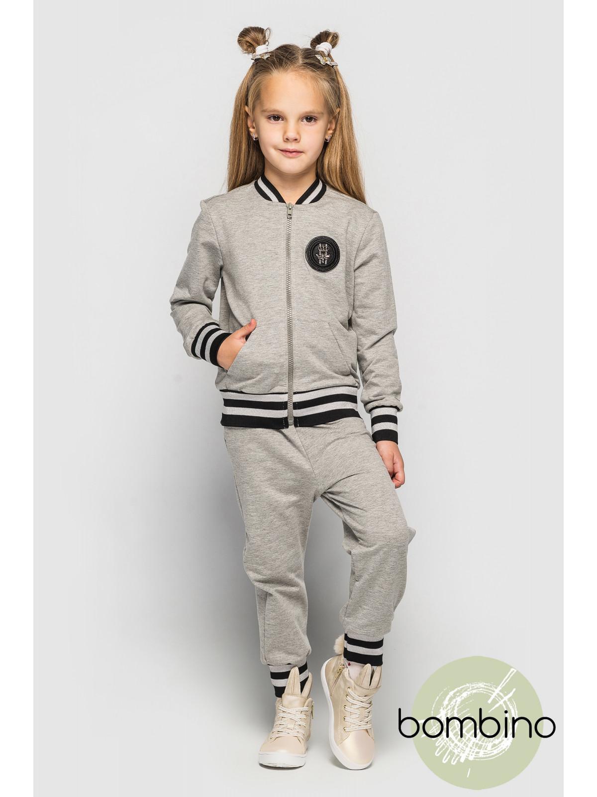 Спортивный костюм ClydeCH/S Светло-серый