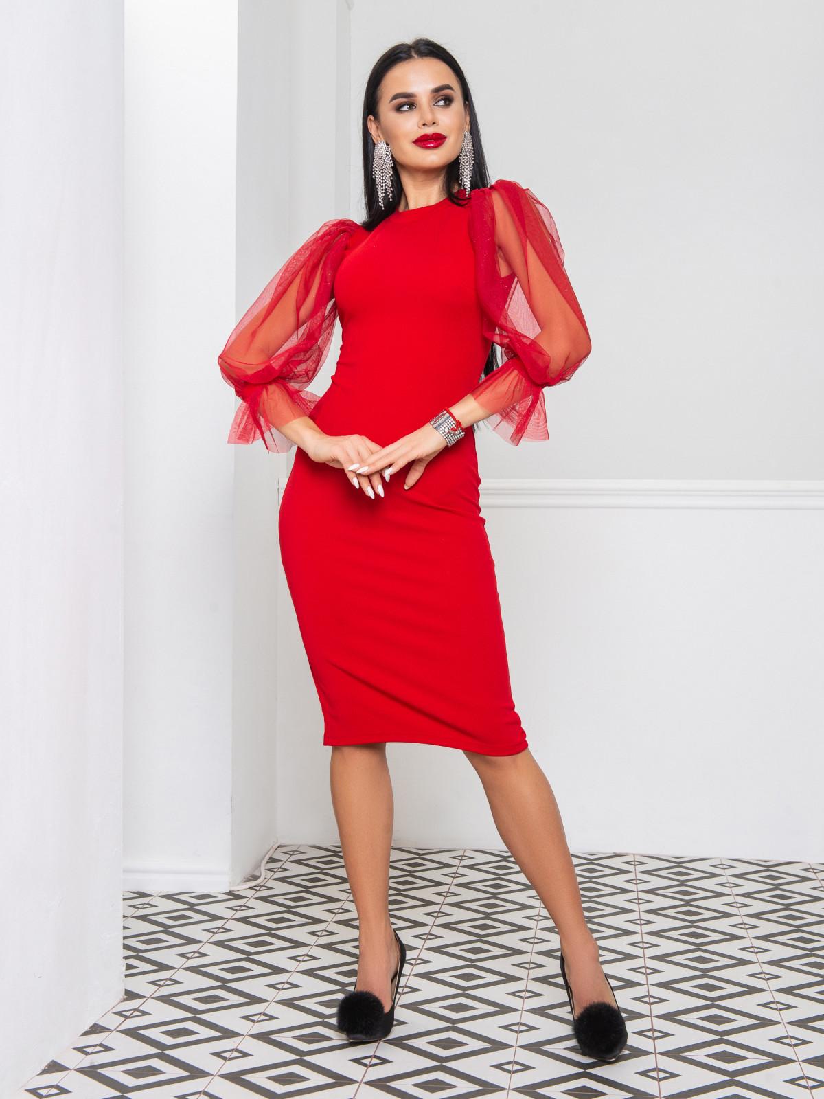 Платье Onyx красный