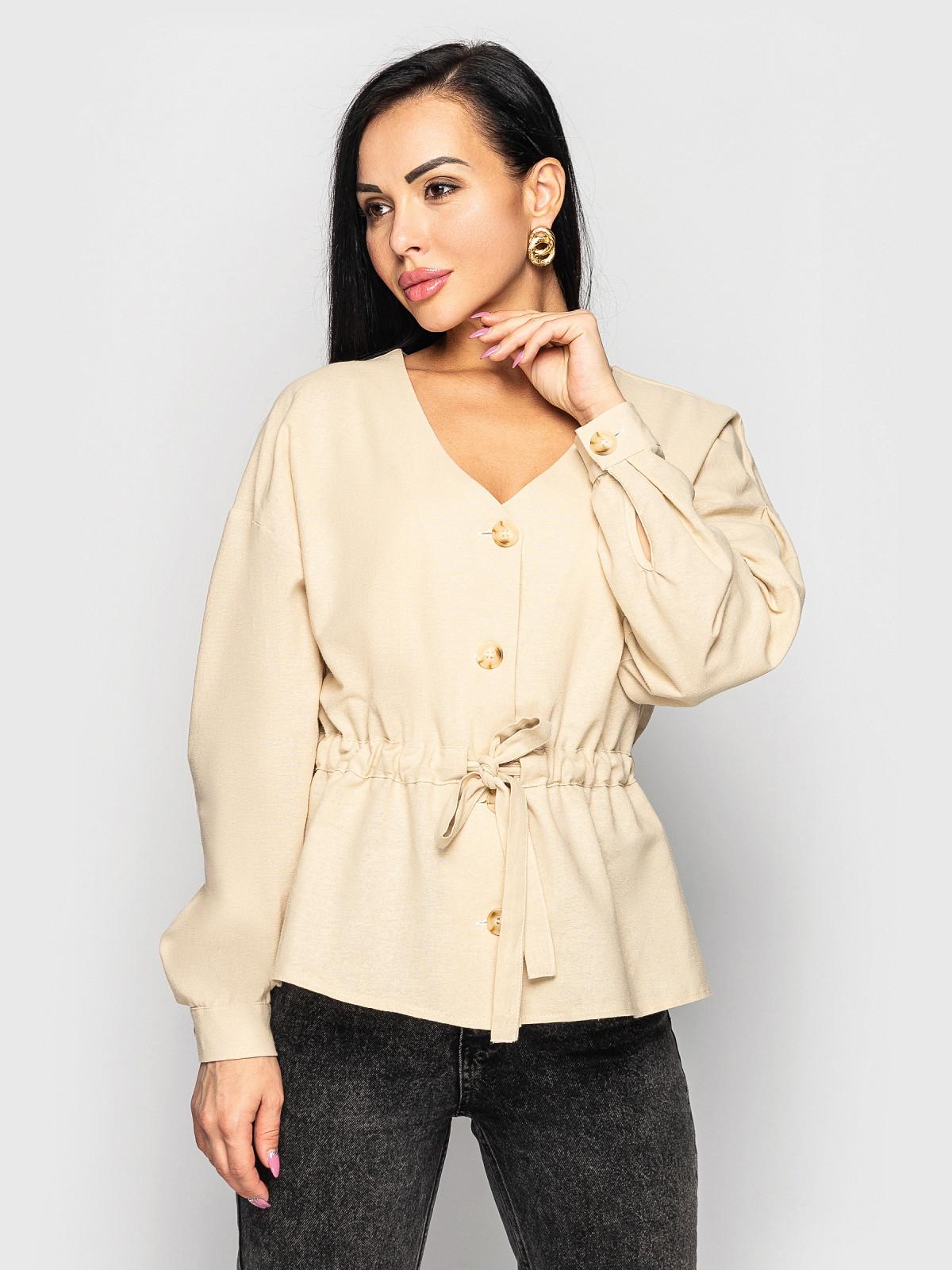 Блуза Ember бежевый
