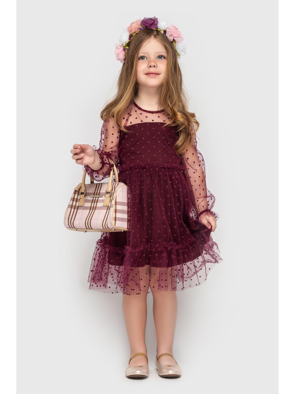 Платье Mari Бордовый