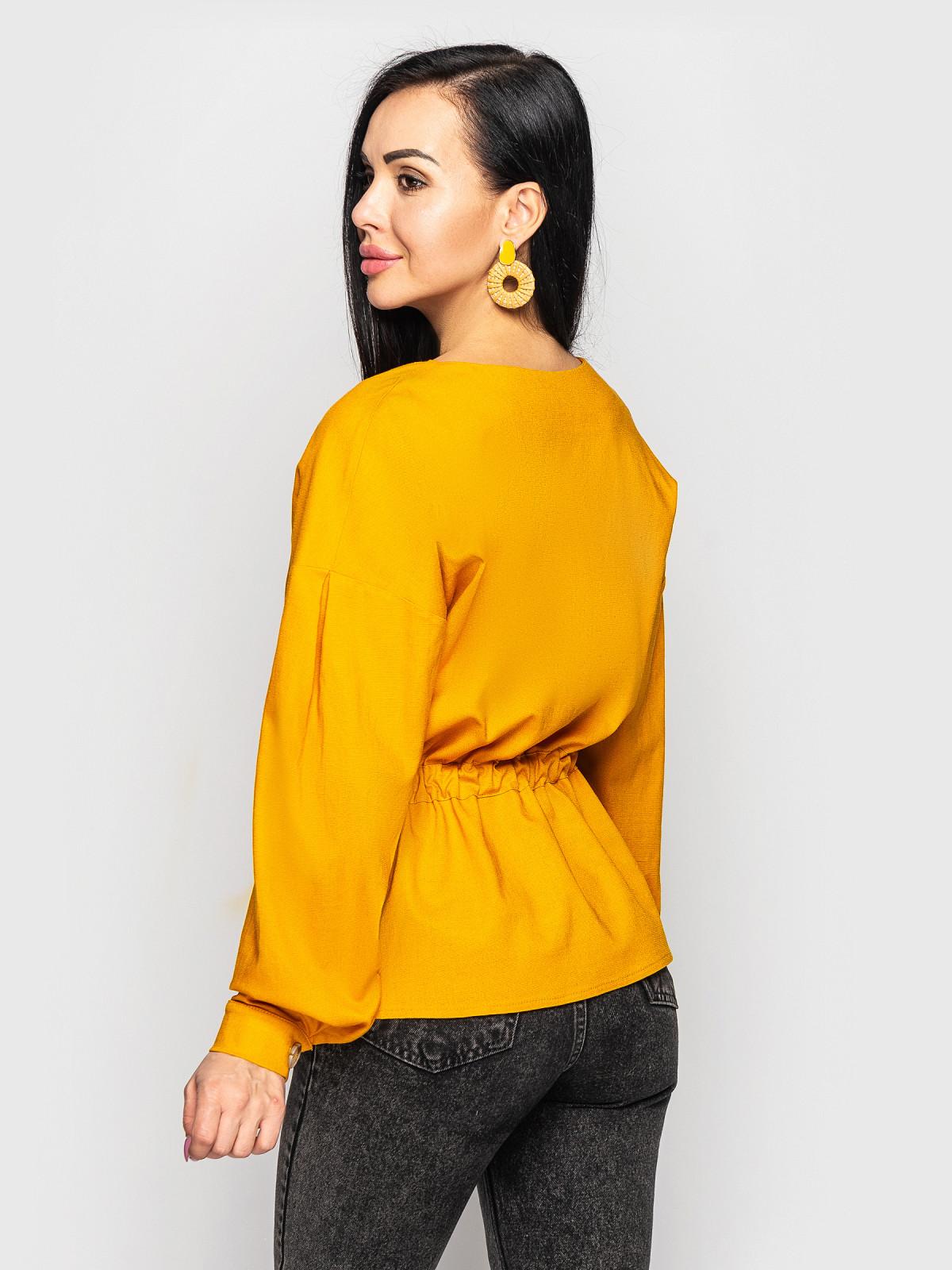 Блуза Ember горчица