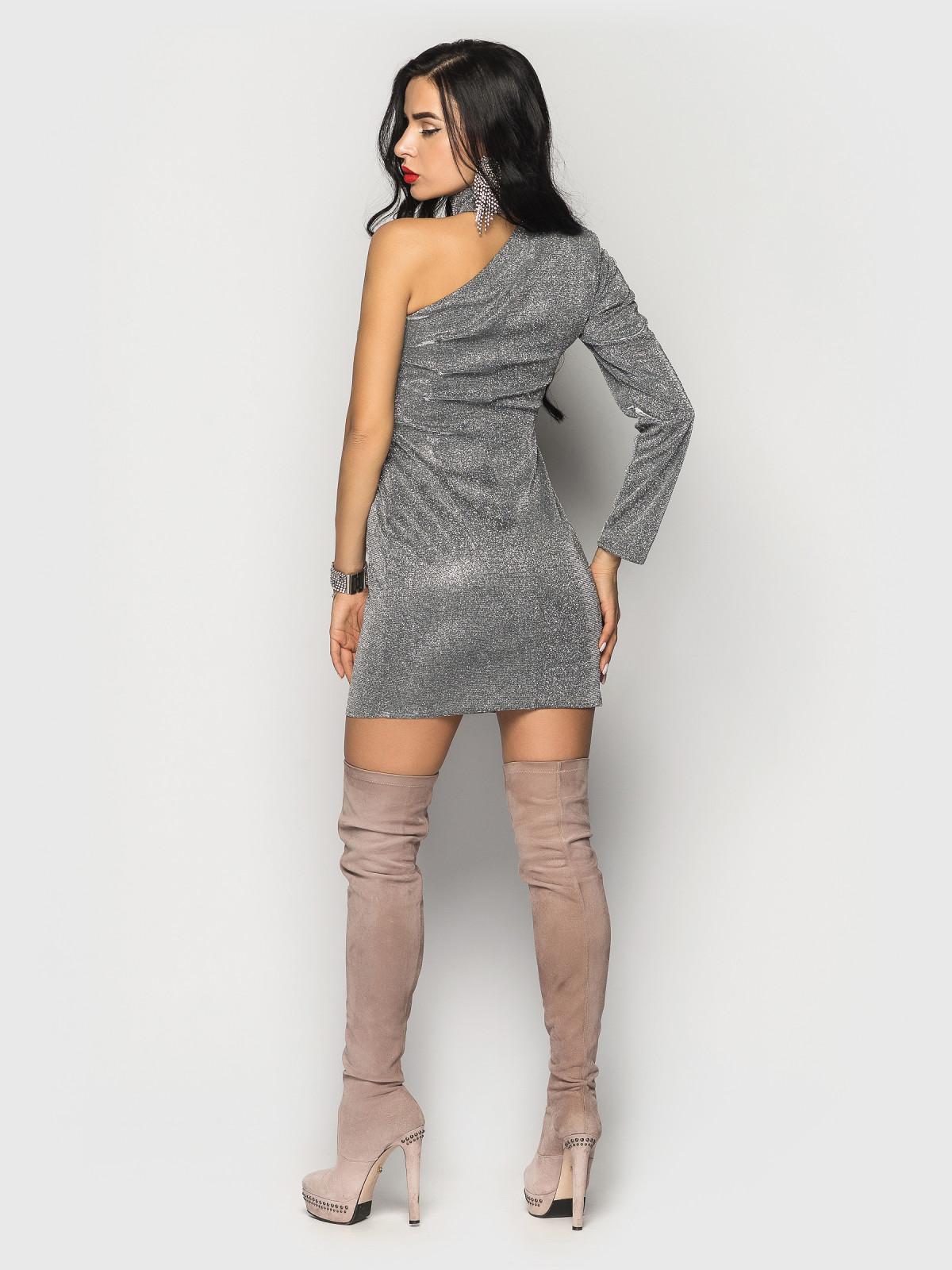 Платье Chicago серебро