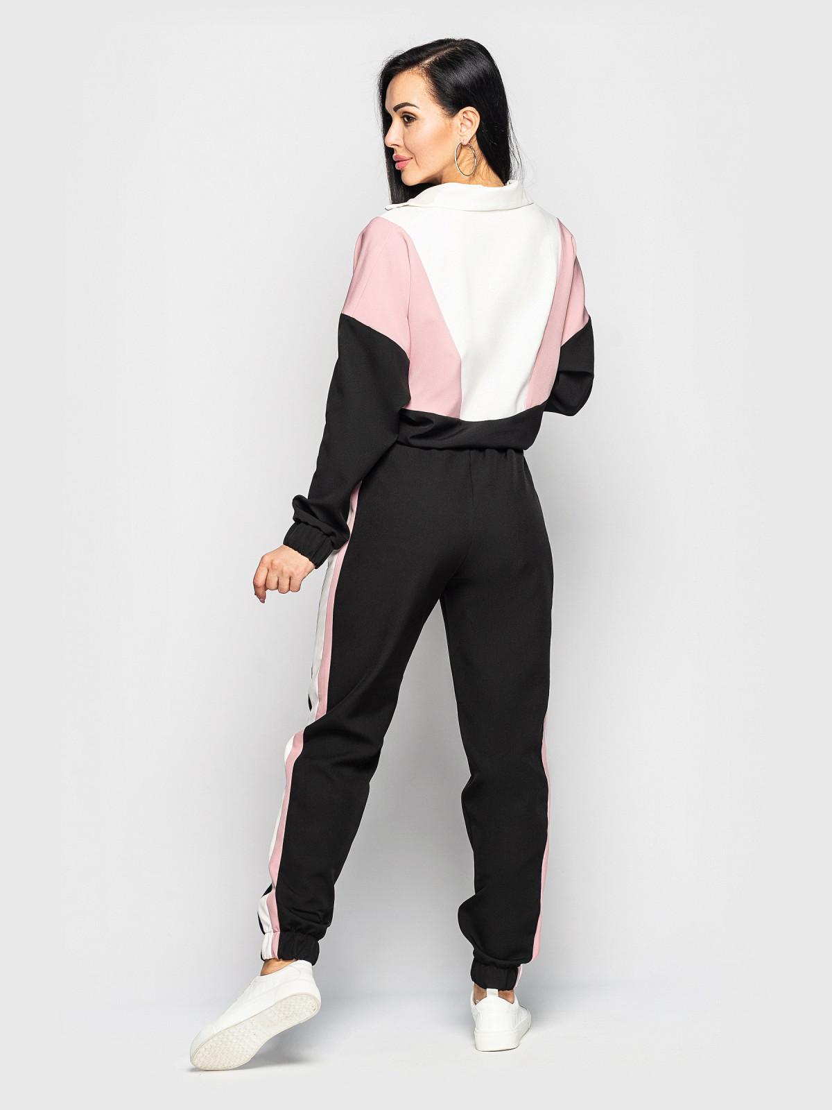 Спортивный костюм Taylor Черный-розовый-белый