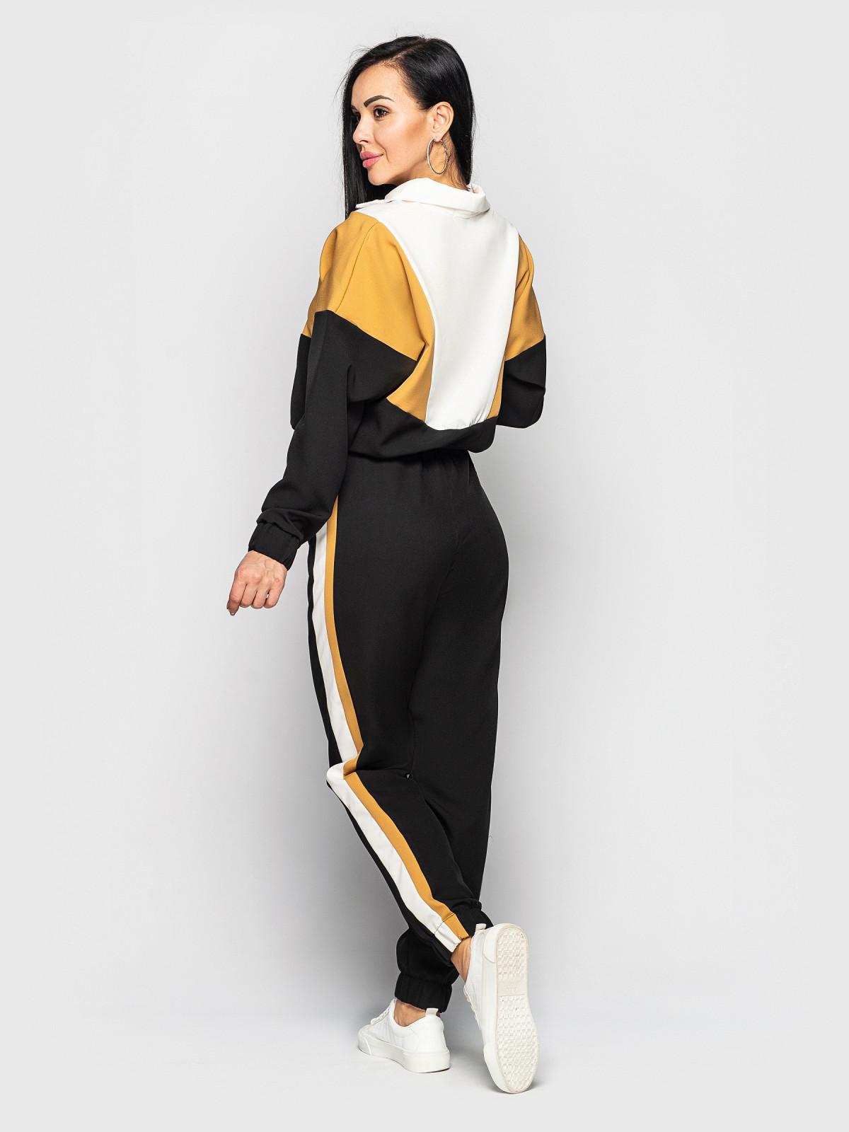 Спортивный костюм Taylor Черный-кэмэл-белый
