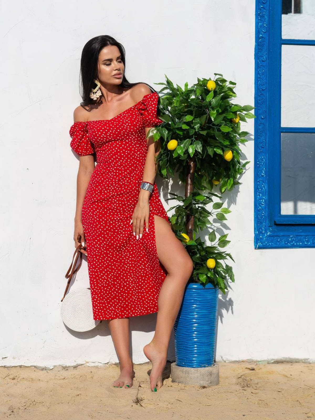 Платье ELLA Красный