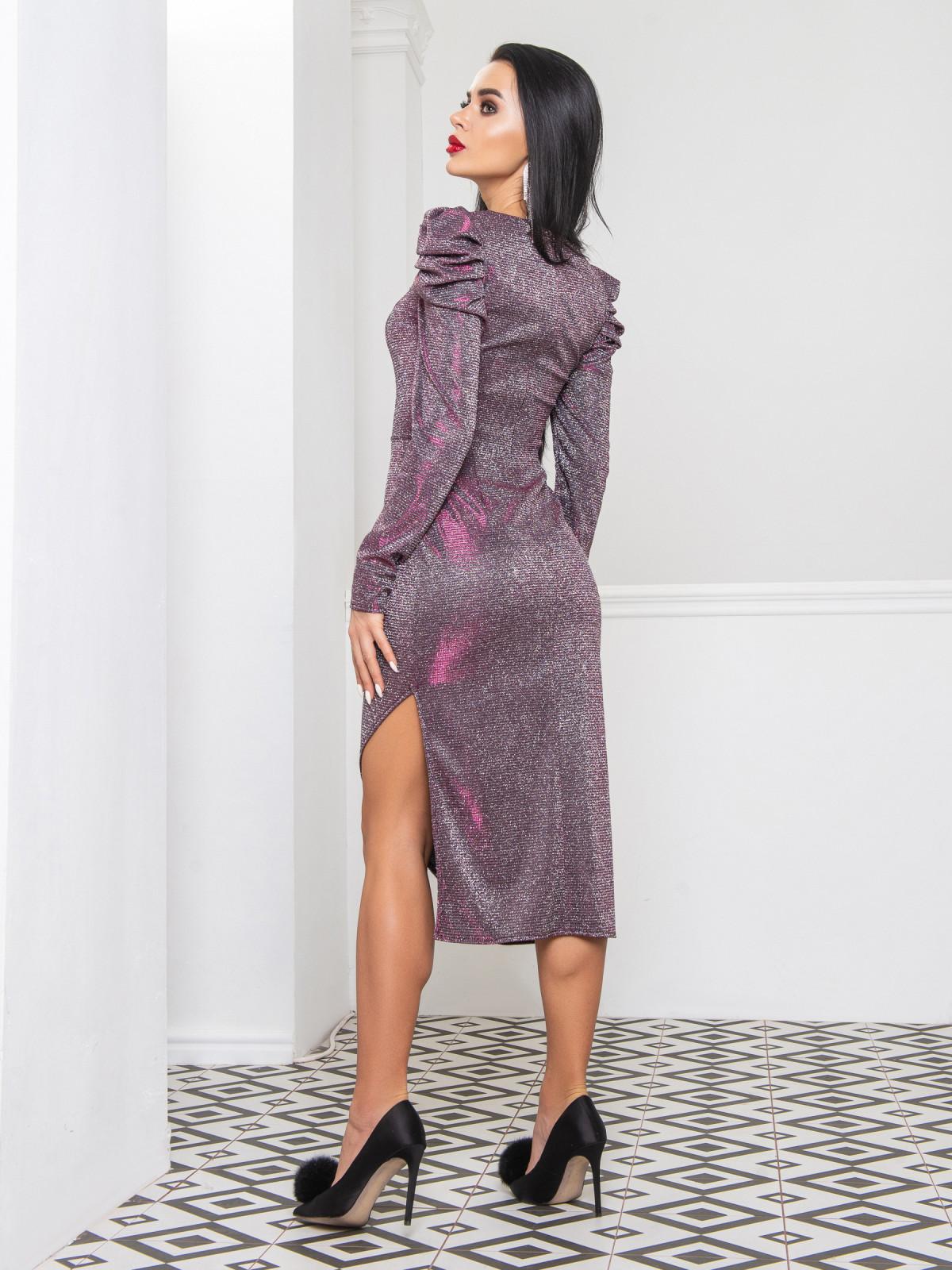 Платье Blesk малиновый
