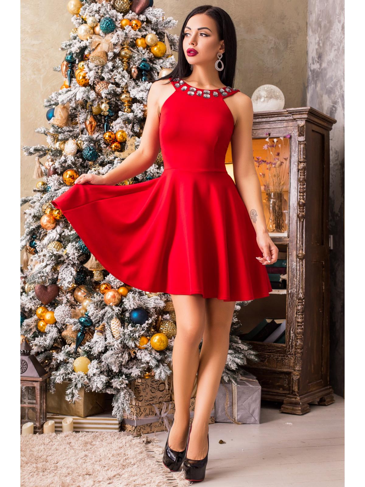 Платье Кристал-1 Красный