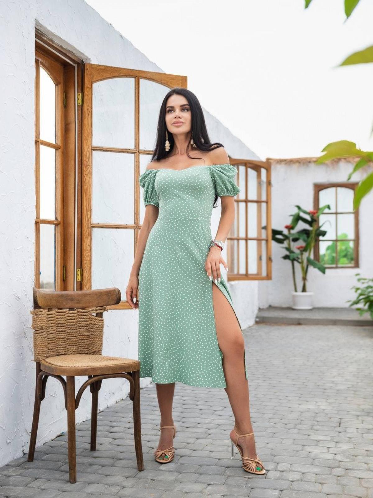 Платье ELLA Фисташковый