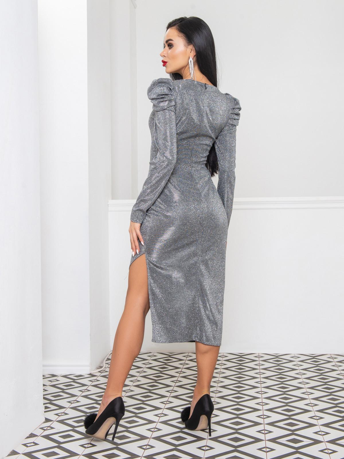Платье Blesk серебро