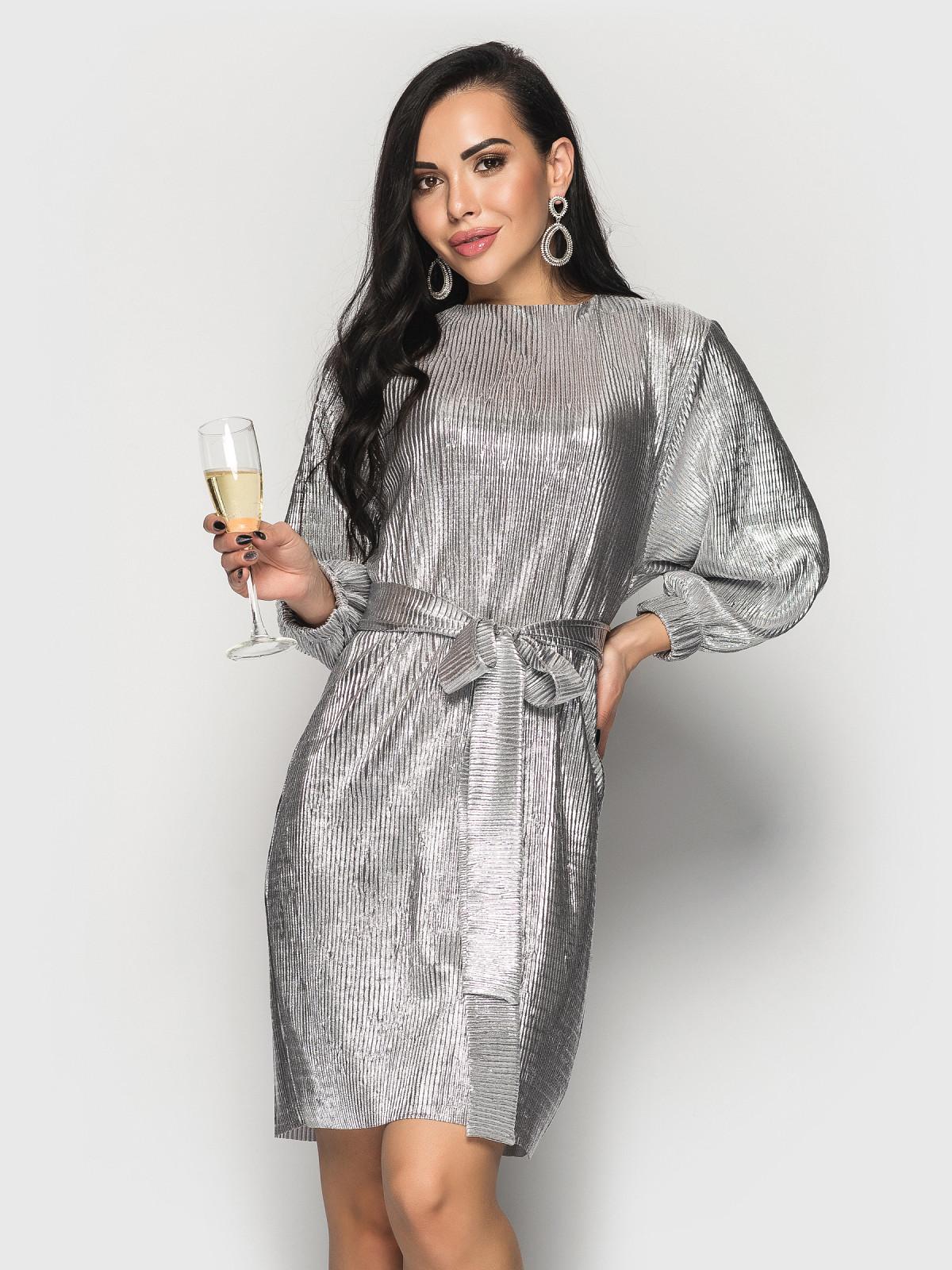 Платье Pandora серебро