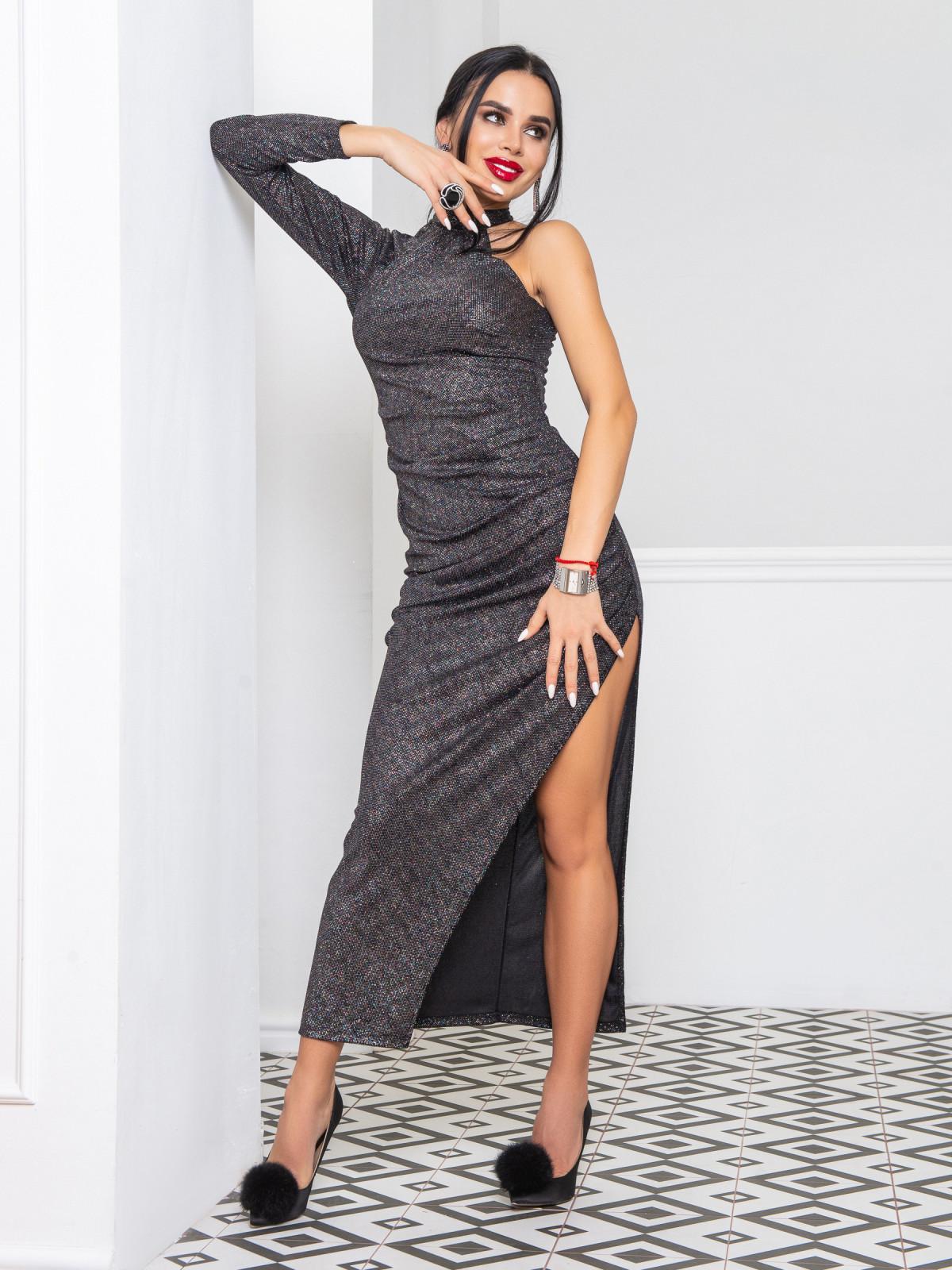 Платье Brilliant черный бензин