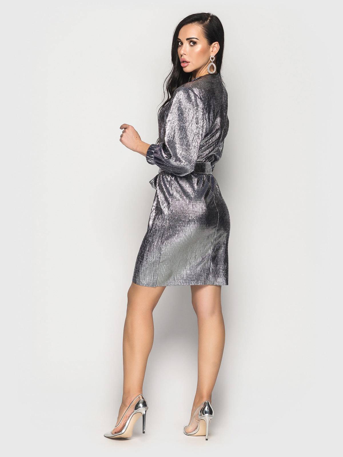 Платье Pandora синее серебро