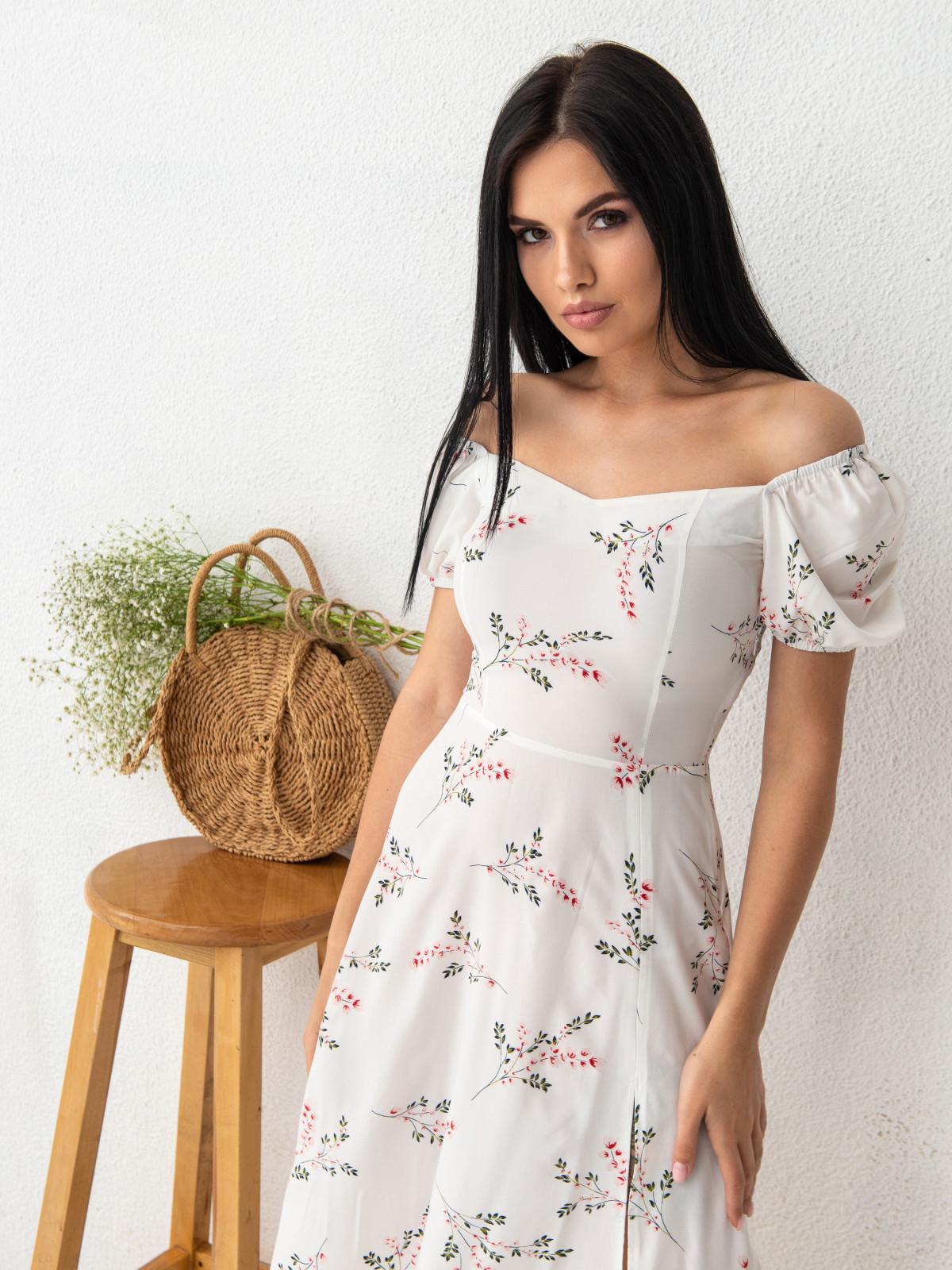 Платье ELLA Молочный