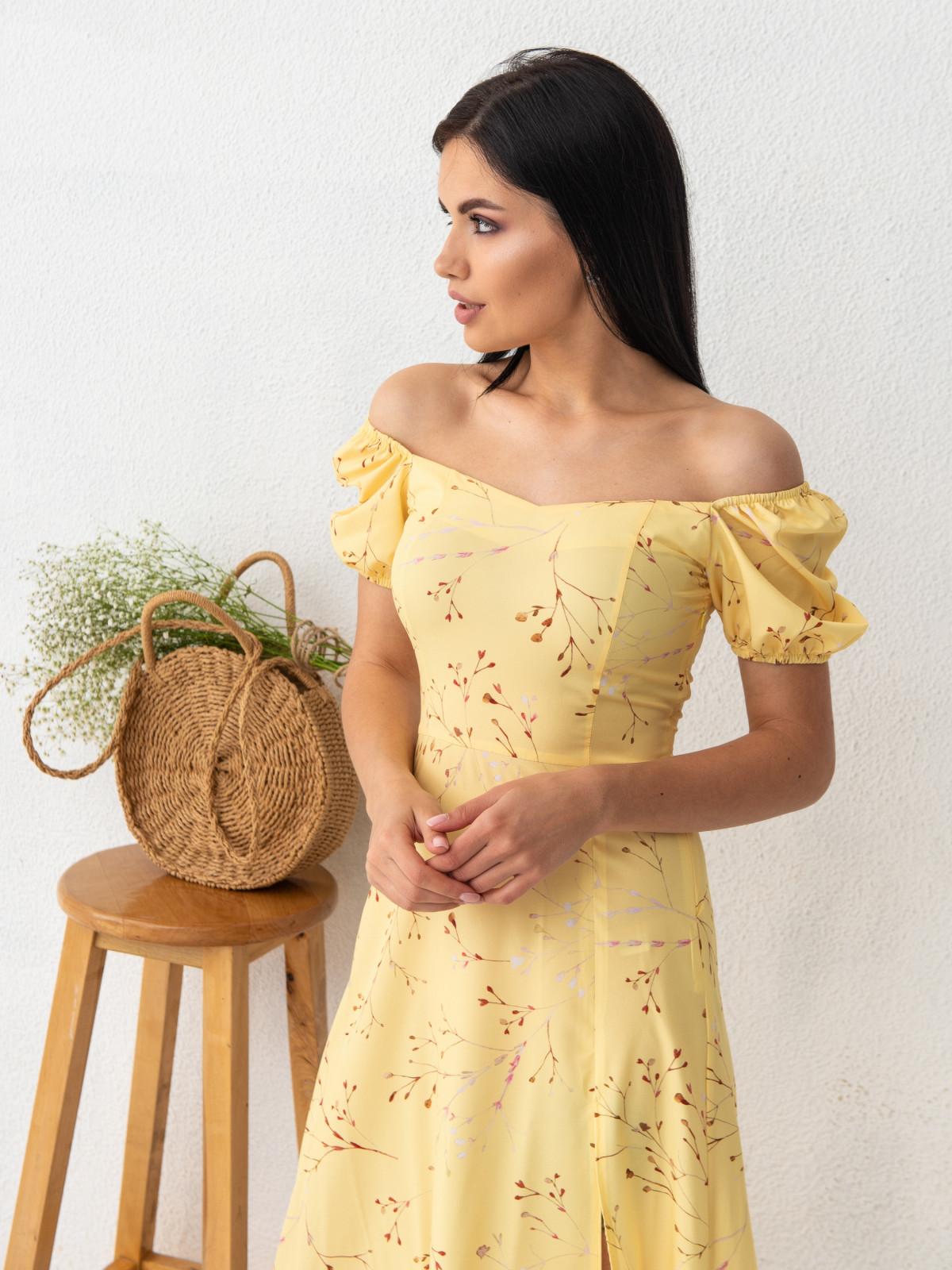 Платье ELLA Желтый