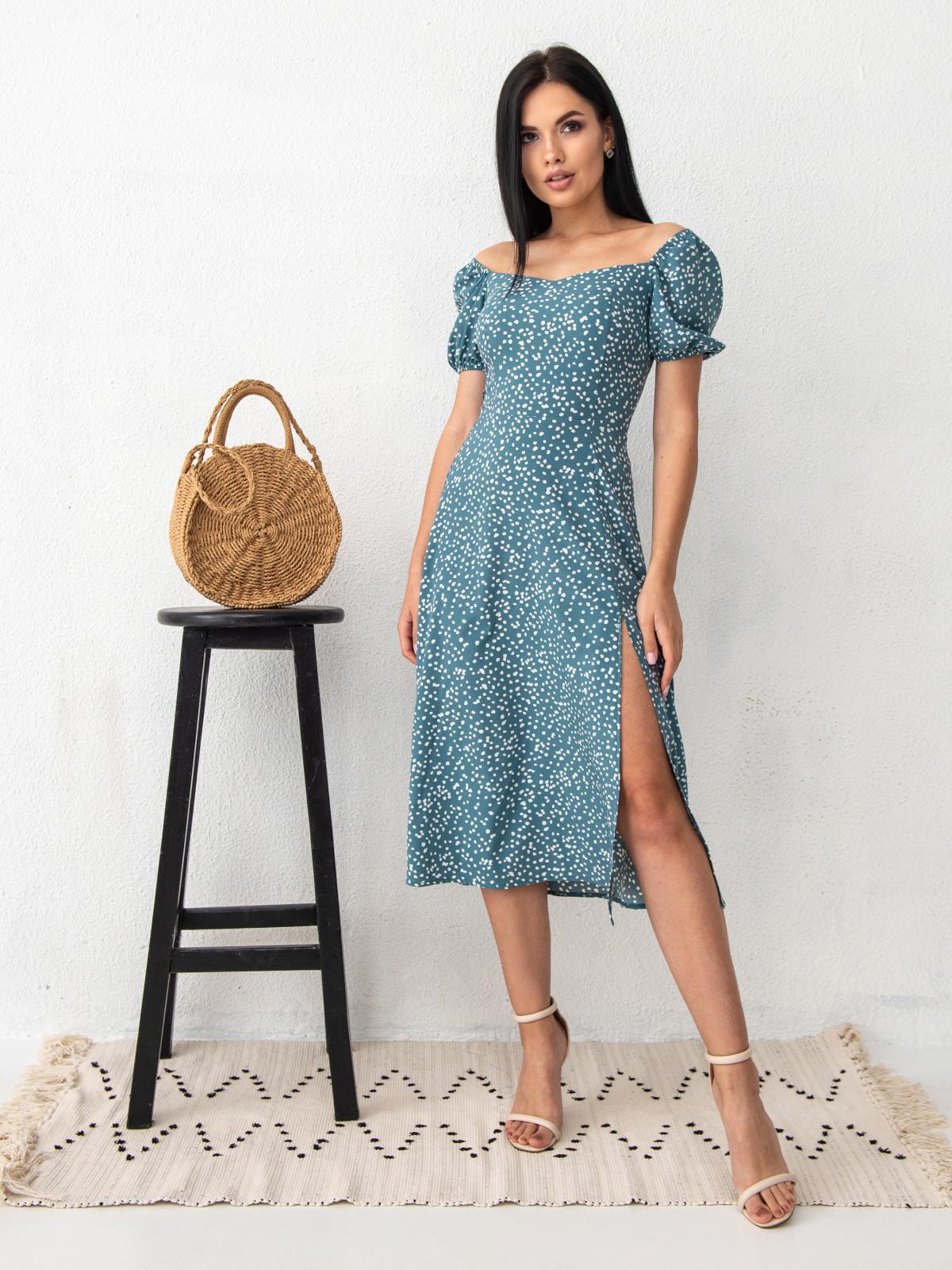 Платье ELLA Морская волна