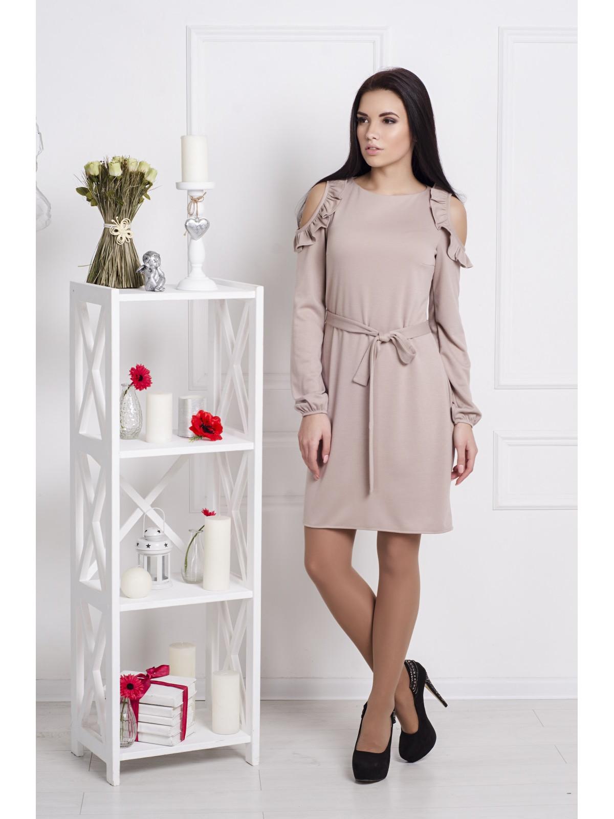 Платье Марсель-1 Бежевый