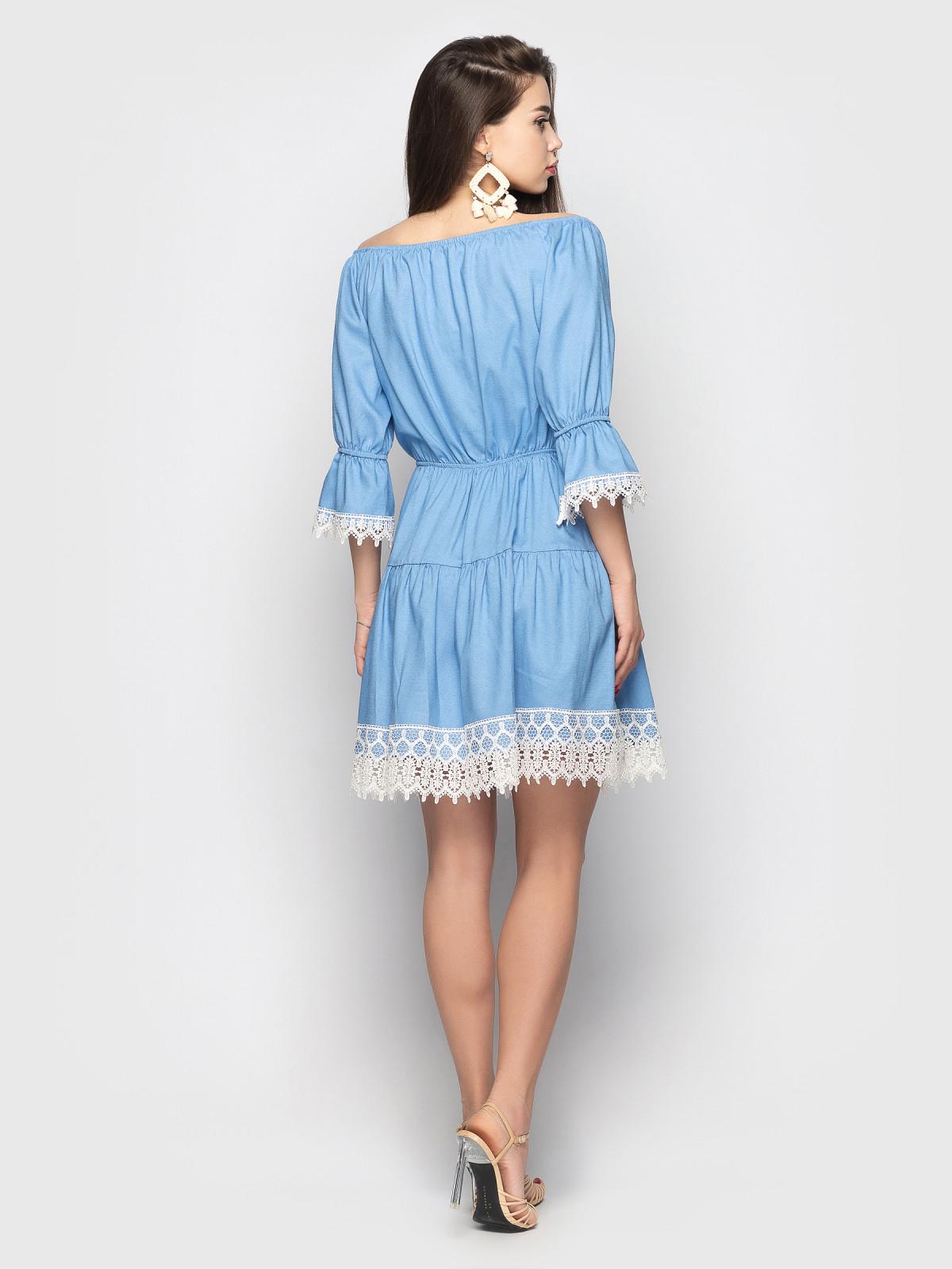 Платье Avrora Голубой