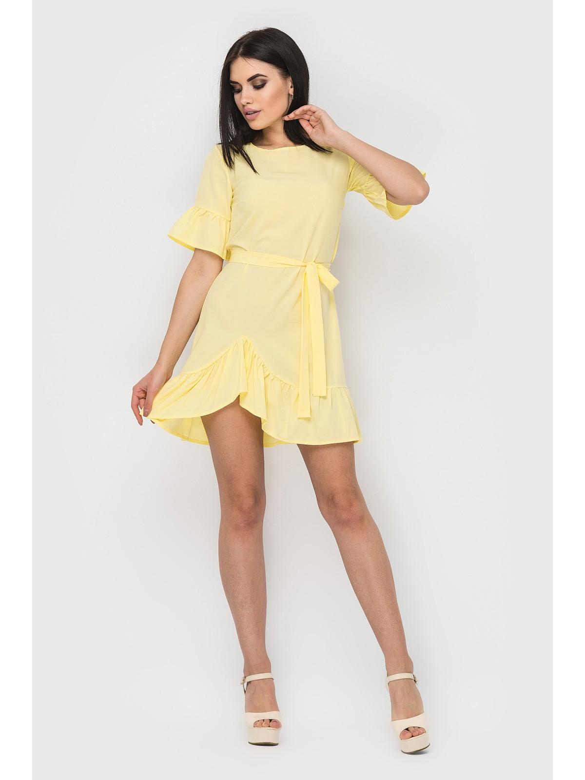 Платье Alina Желтый