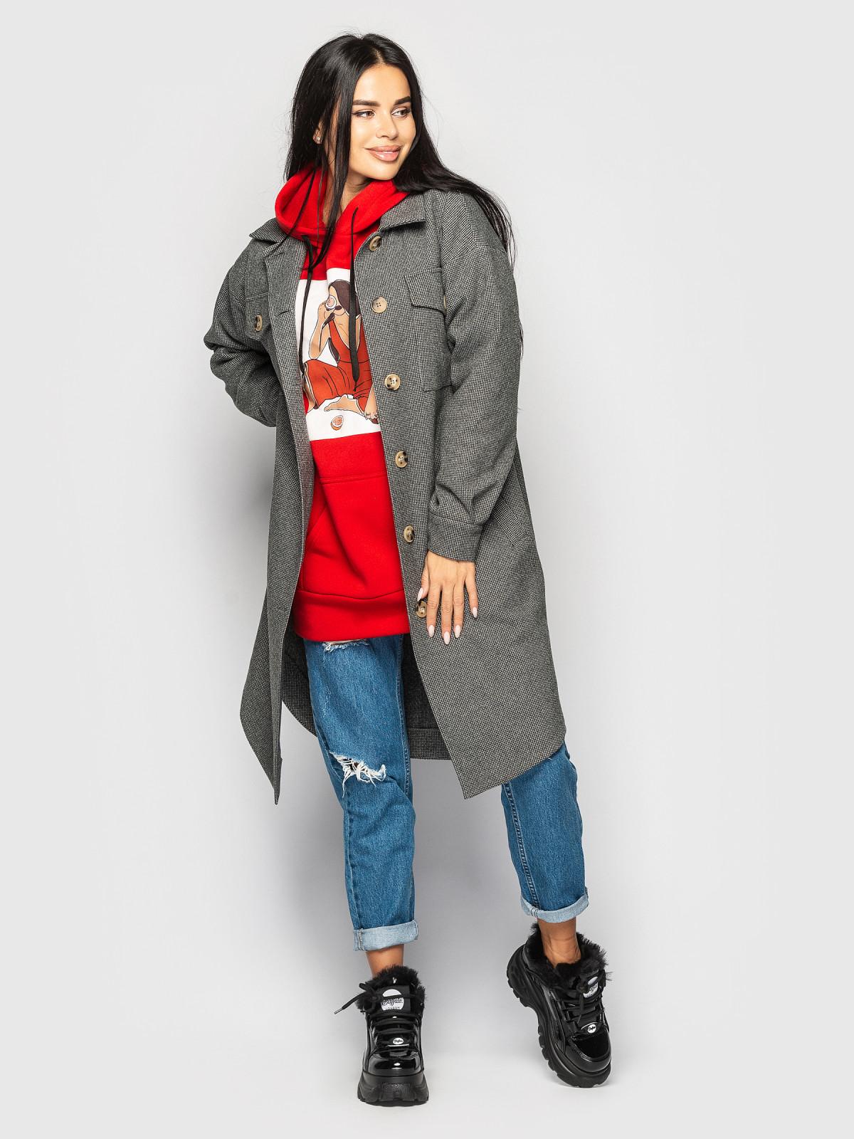 Пальто Daisy Темно-серый