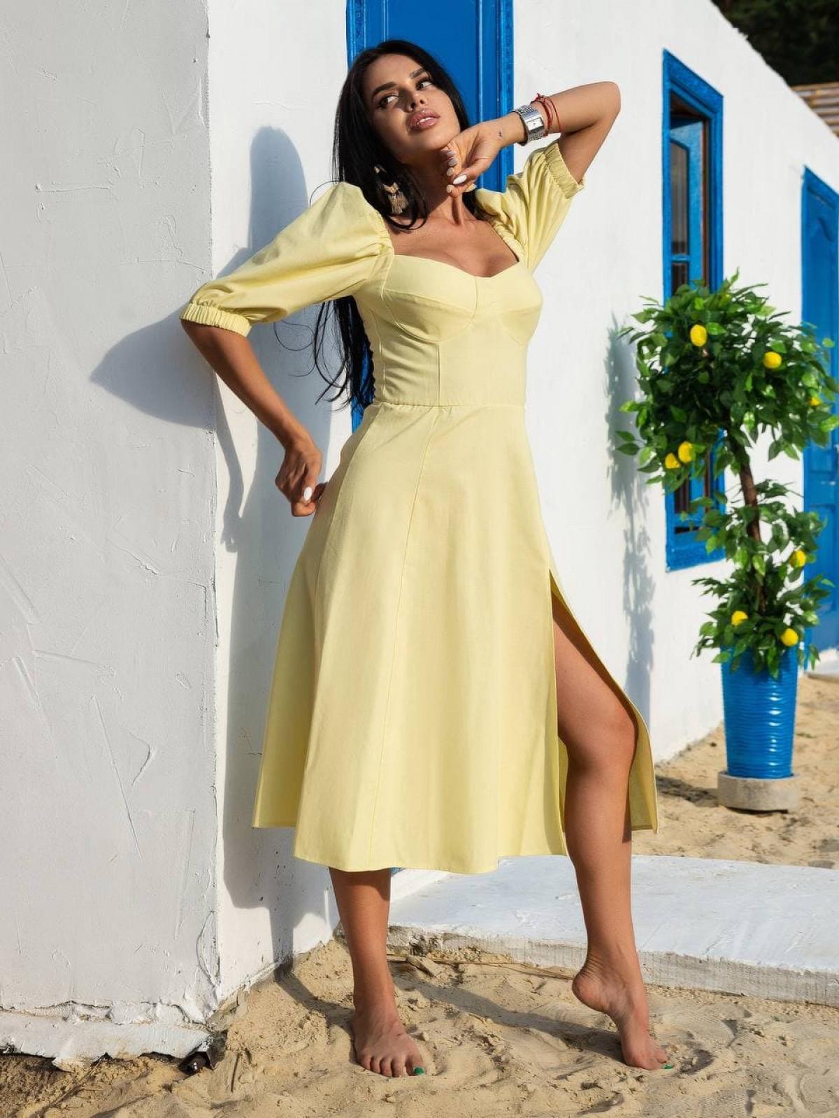 Платье Marakuya2 Желтый