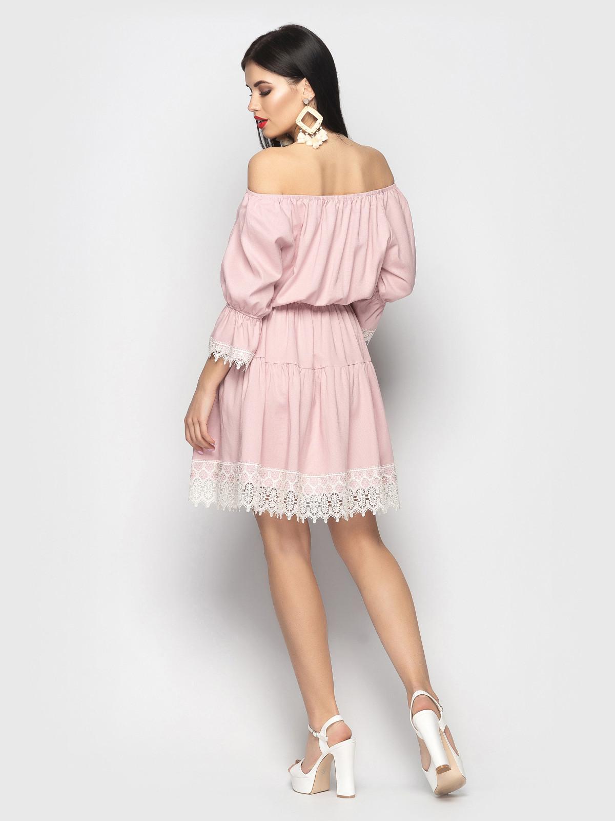 Платье Avrora розовый