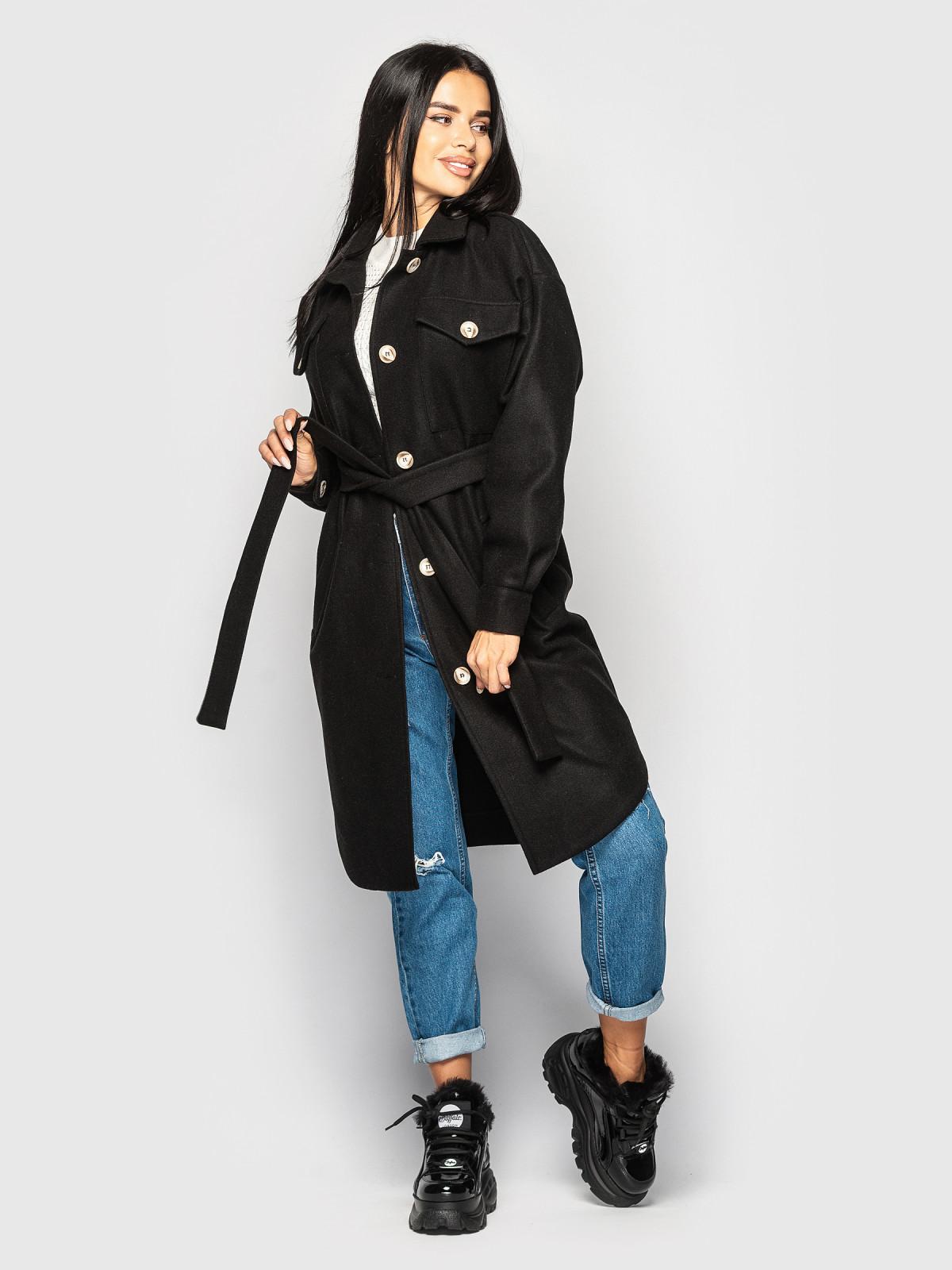 Пальто Daisy черный