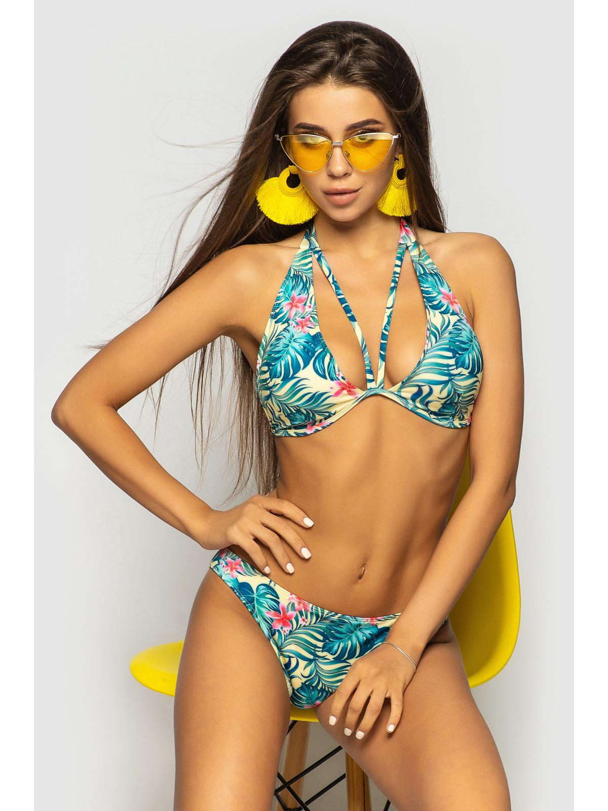 Купальник Ibiza 1 Желтый папоротник