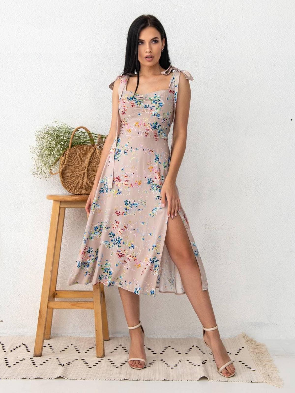 Платье Charisma Бежевый