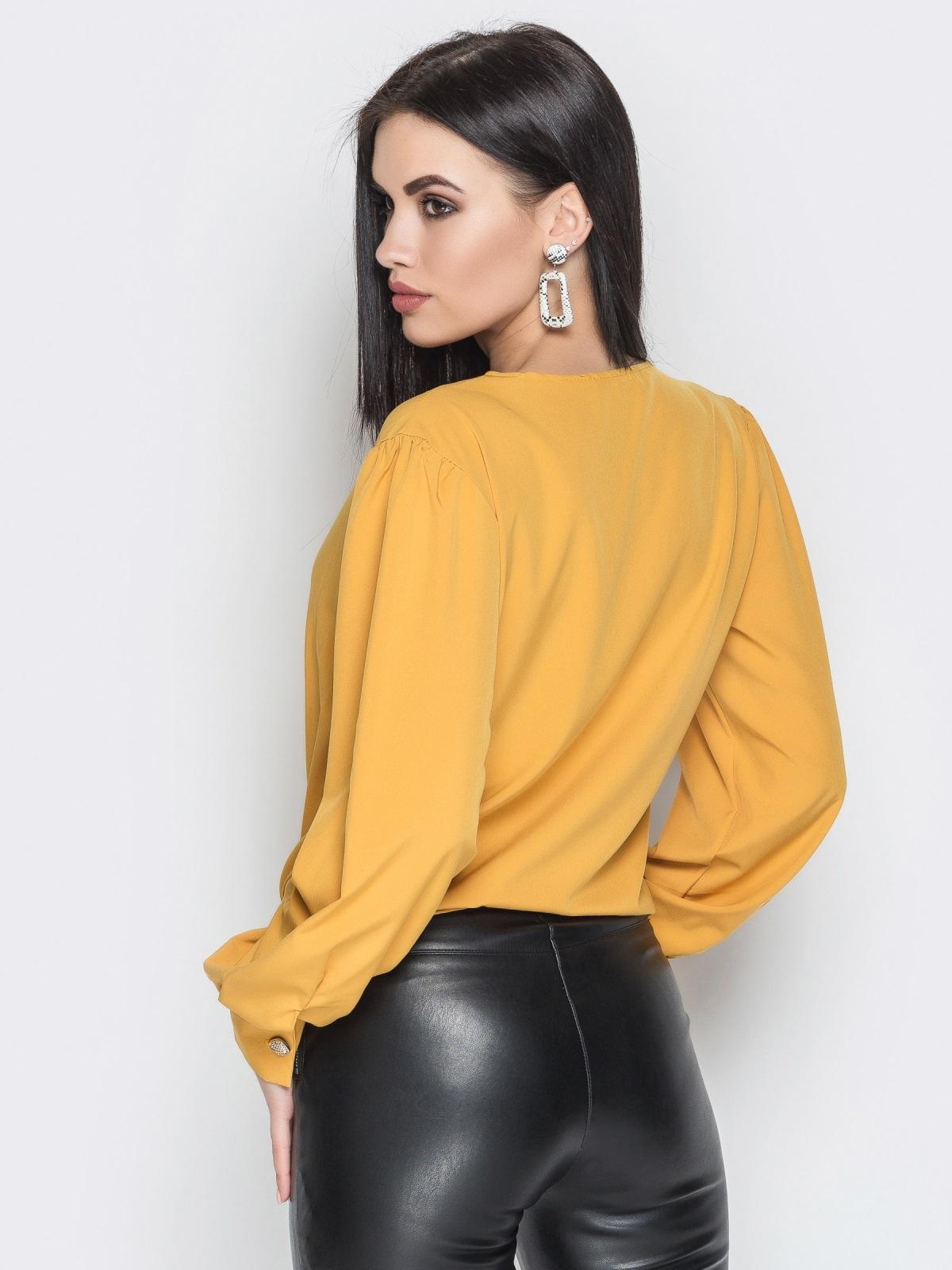Блузка Angelina горчица