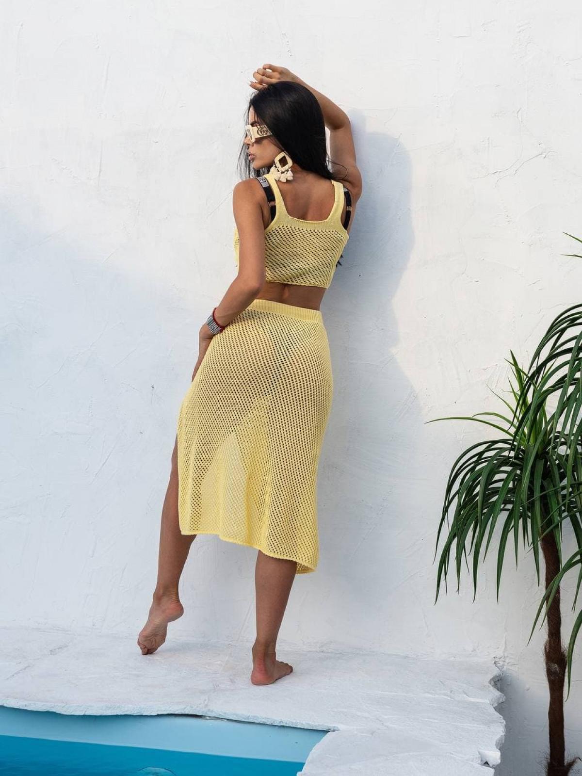 Комплект вязаный Bali Желтый