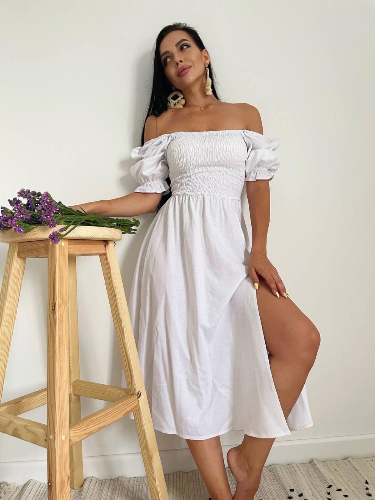 Платье Mango Белый