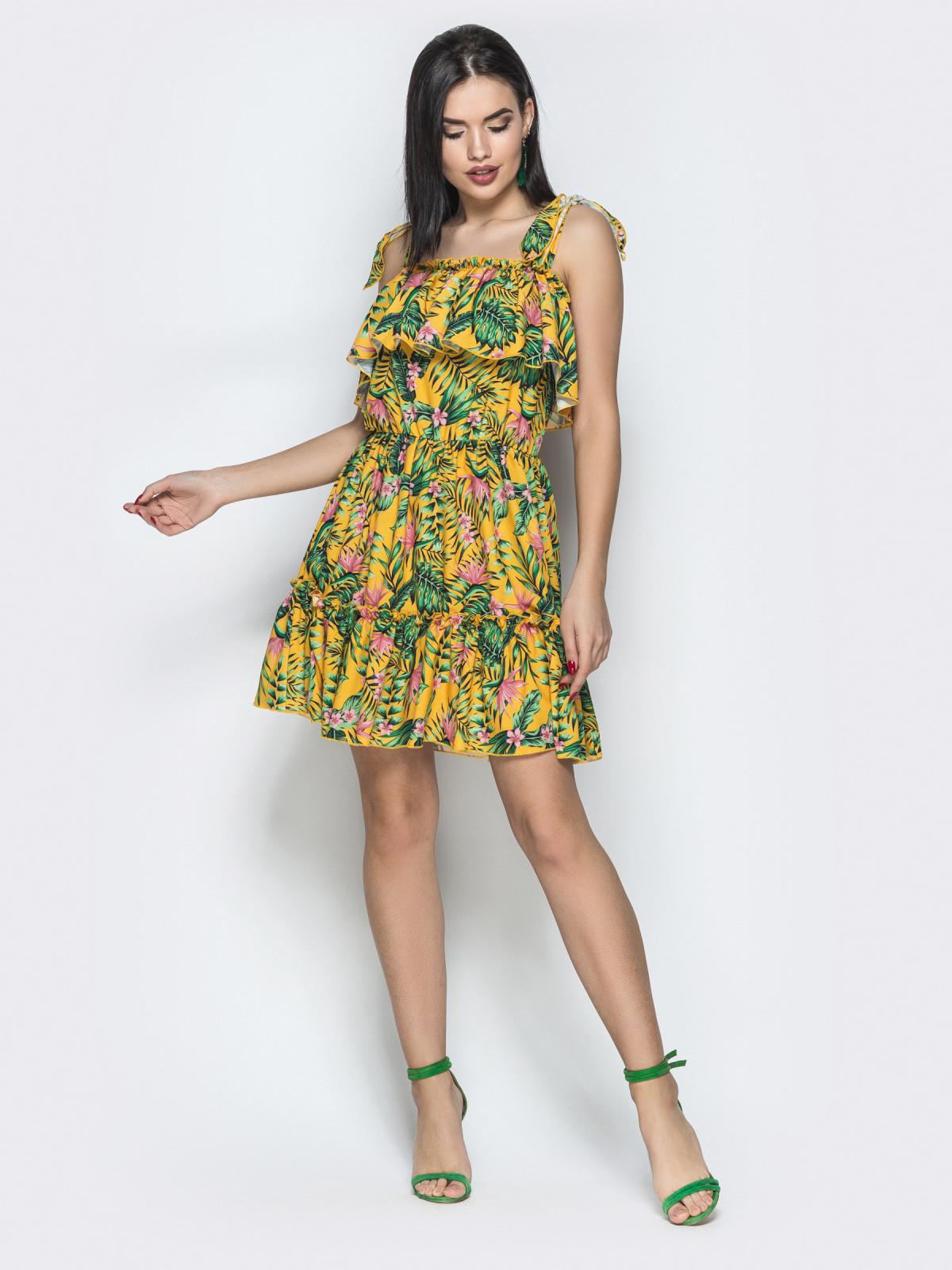 Платье Tayana горчичный папоротник