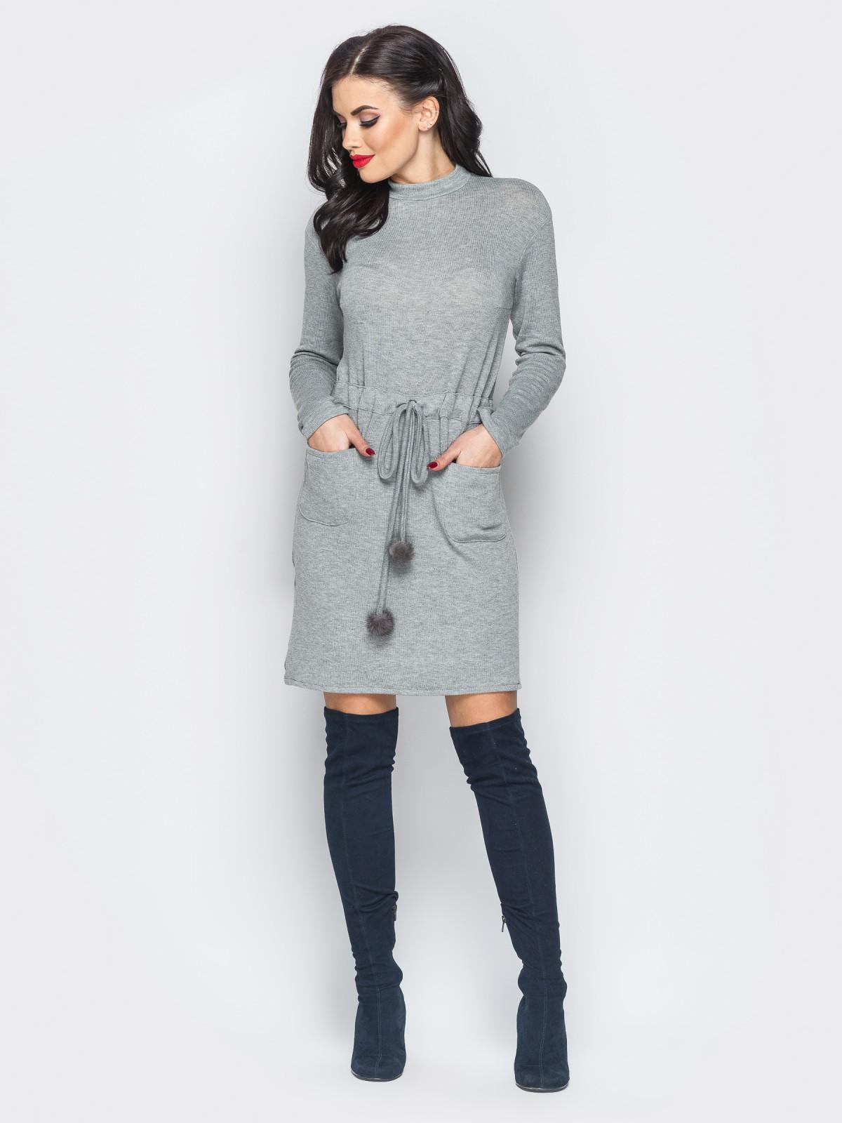 Платье Candy серый