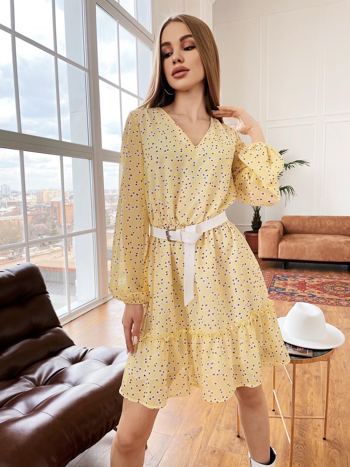 Платье Fantasy желтый