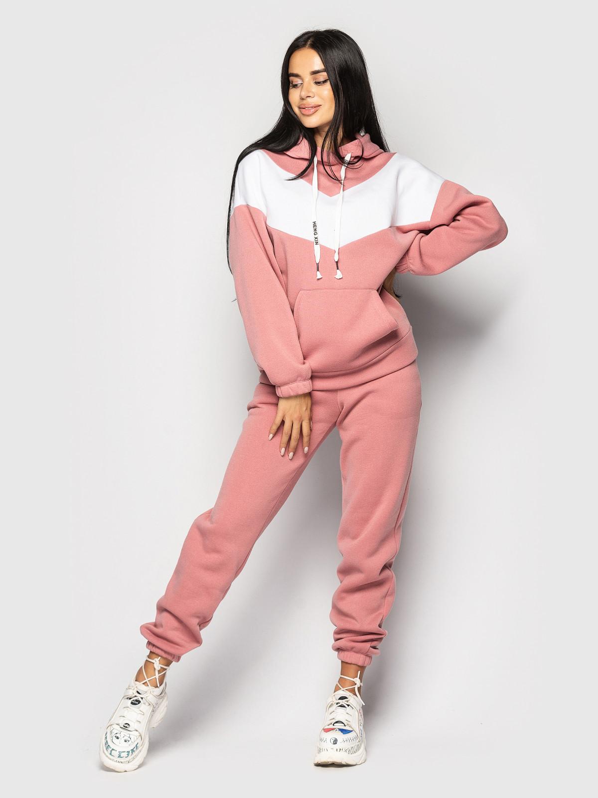 Спортивный костюм Enjoy Розовый-белый